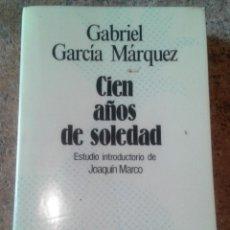 Libros de segunda mano: CIEN AÑOS DE SOLEDAD (PRÓLOGO DE JOAQUÍN MARCO). Lote 124301275