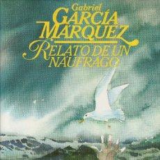 Libros de segunda mano: RELATO DE UN NÁUFRAGO (EDICIÓN DE 1985), DE GABRIEL GARCÍA MÁRQUEZ, EDITORIAL CÍRCULO DE LECTORES.. Lote 124738447