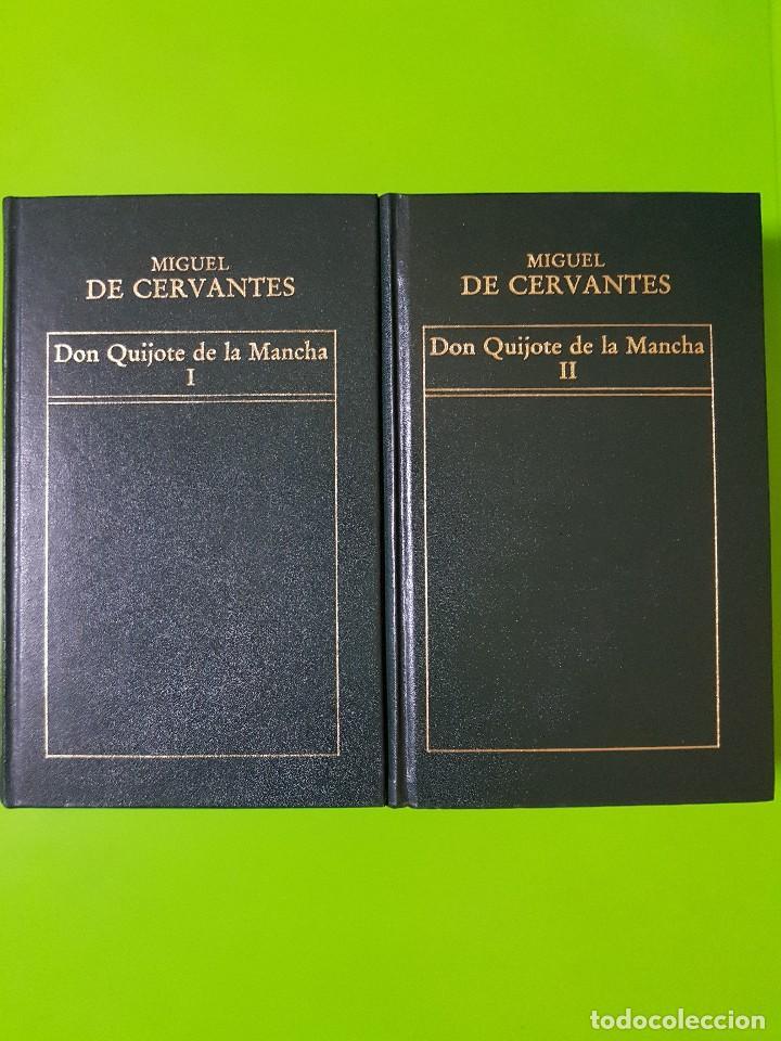 DON QUIJOTE DE LA MANCHA, FORTUNATA Y JACINTA, LA REGENTA EN 6 VOLÚMENES ORBIS DE TAPAS DURAS (Libros de Segunda Mano (posteriores a 1936) - Literatura - Narrativa - Clásicos)
