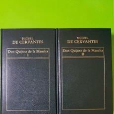 Libros de segunda mano: DON QUIJOTE DE LA MANCHA, FORTUNATA Y JACINTA, LA REGENTA EN 6 VOLÚMENES ORBIS DE TAPAS DURAS. Lote 191300935