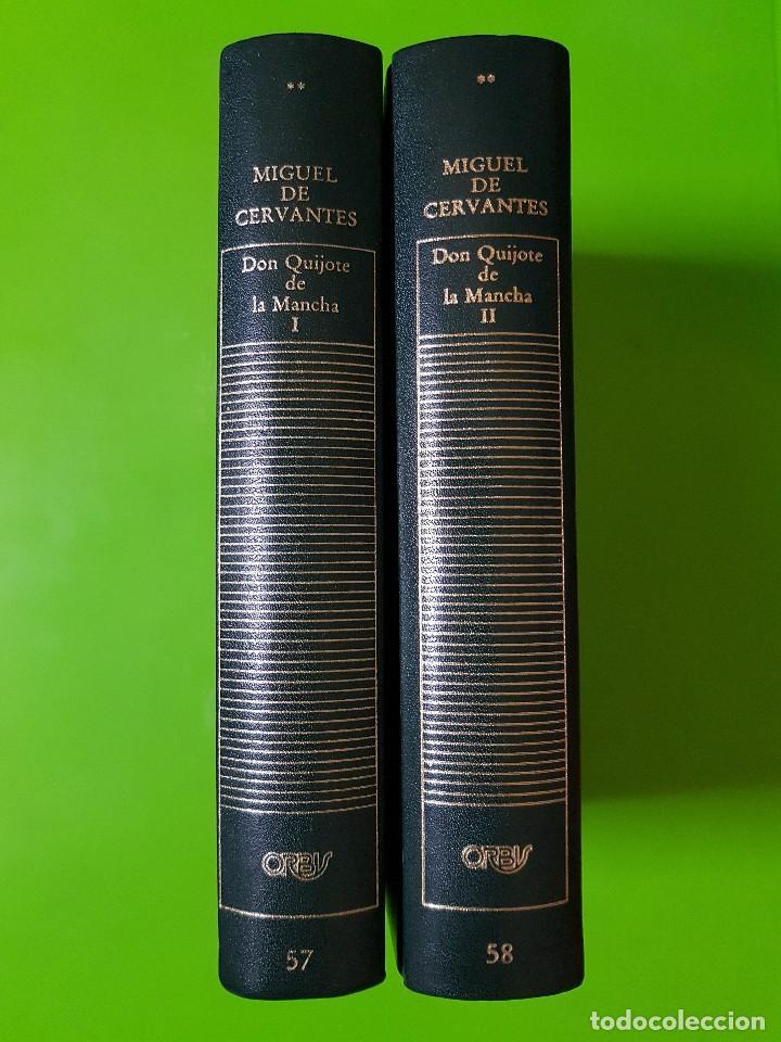 Libros de segunda mano: Don Quijote de la Mancha, Fortunata y Jacinta, La Regenta en 6 Volúmenes Orbis de Tapas Duras - Foto 2 - 191300935