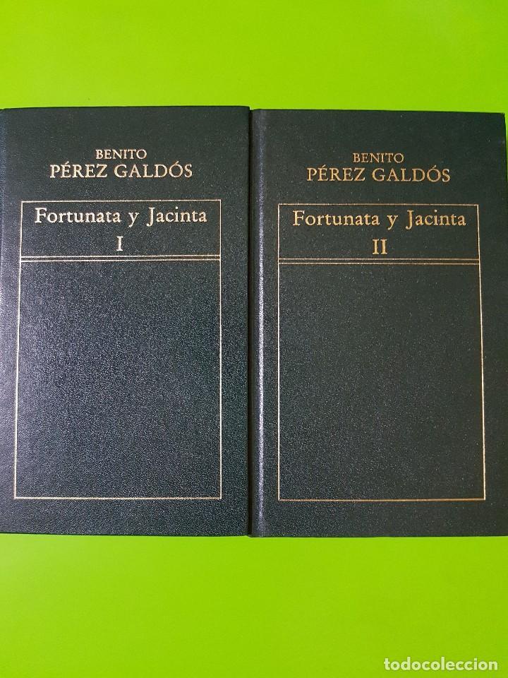 Libros de segunda mano: Don Quijote de la Mancha, Fortunata y Jacinta, La Regenta en 6 Volúmenes Orbis de Tapas Duras - Foto 5 - 191300935