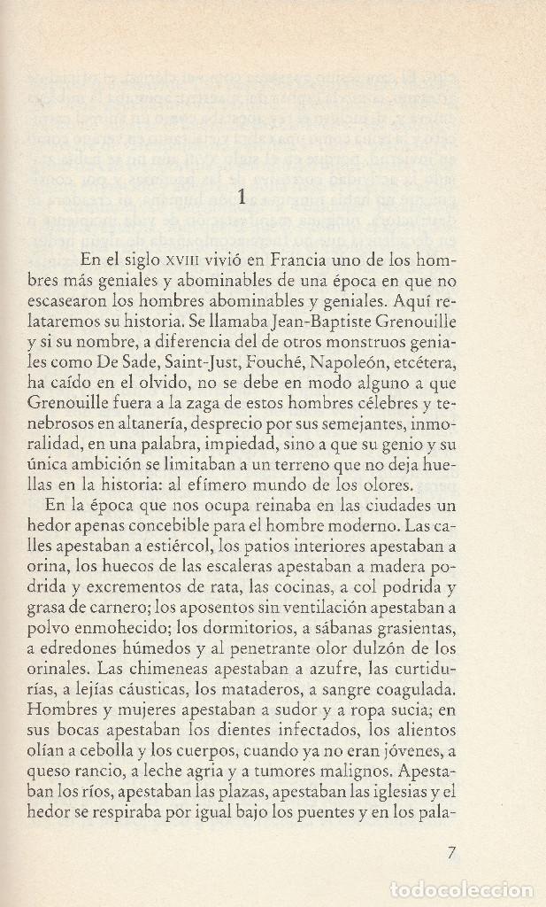 Libros de segunda mano: El perfume (edición de 1985), de Patrick Süskind, editorial Círculo de Lectores. - Foto 5 - 125145911