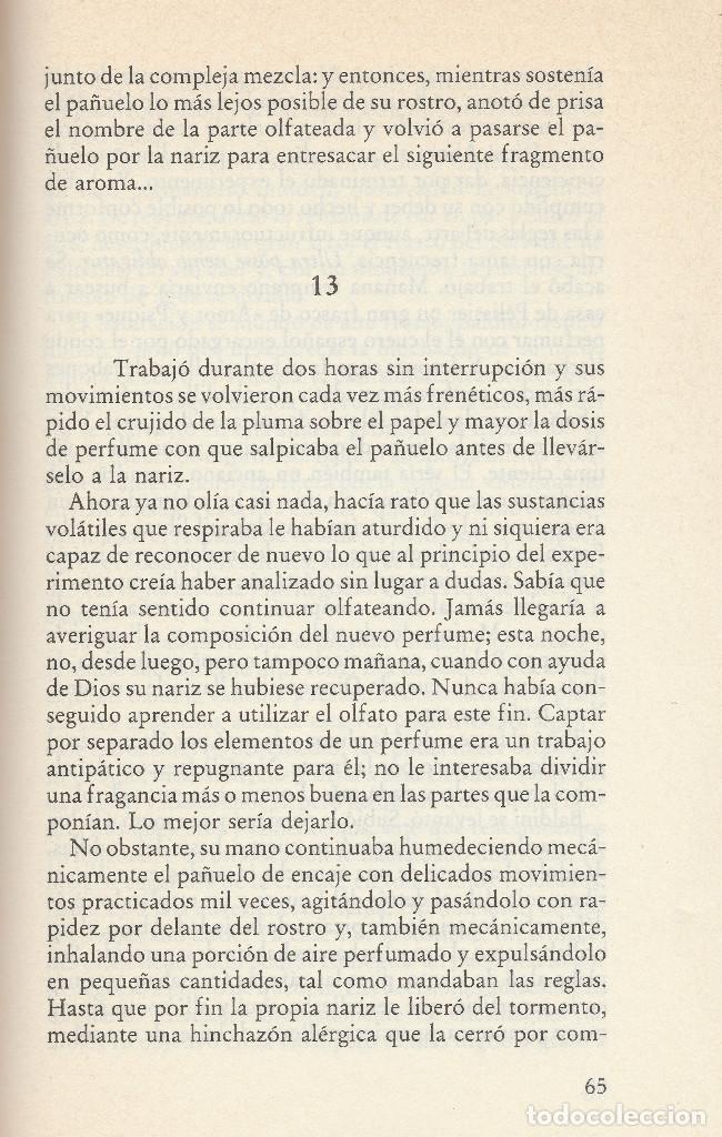 Libros de segunda mano: El perfume (edición de 1985), de Patrick Süskind, editorial Círculo de Lectores. - Foto 6 - 125145911