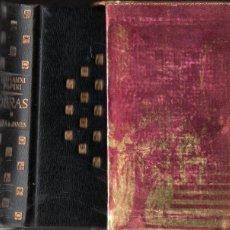 Libros de segunda mano: GIOVANNI PAPINI : OBRAS (PLAZA JANÉS, 1971) PLENA PIEL CON ESTUCHE. Lote 142250020