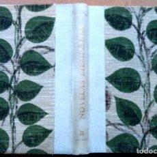 Libros de segunda mano: LIBRO NOVELAS EJEMPLARES DE MIGUEL DE CERVANTES,AÑO1969,EDICION 500 EJEMPLARES,Nº1,AUTOR DON QUIJOTE. Lote 125246615