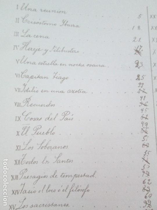 Libros de segunda mano: JOSE RIZAL. EDICION PARA EL MINISTRO GREGORIO LOPEZ BRAVO. EL FILIBUSTERISMO. NOLI ME TANGERE. - Foto 13 - 125292639