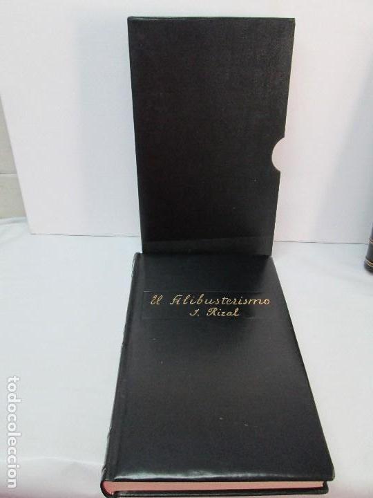 Libros de segunda mano: JOSE RIZAL. EDICION PARA EL MINISTRO GREGORIO LOPEZ BRAVO. EL FILIBUSTERISMO. NOLI ME TANGERE. - Foto 30 - 125292639