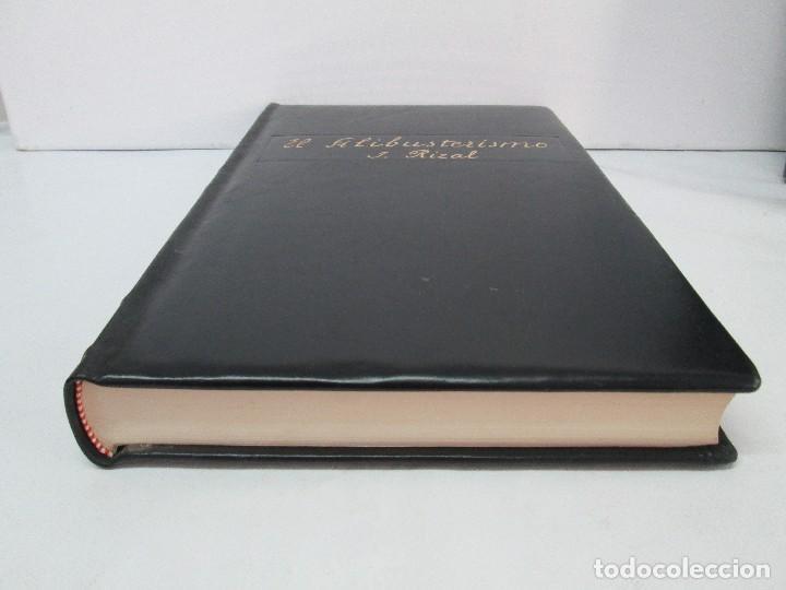 Libros de segunda mano: JOSE RIZAL. EDICION PARA EL MINISTRO GREGORIO LOPEZ BRAVO. EL FILIBUSTERISMO. NOLI ME TANGERE. - Foto 32 - 125292639