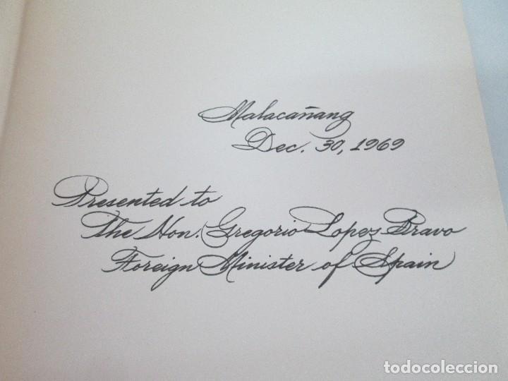 Libros de segunda mano: JOSE RIZAL. EDICION PARA EL MINISTRO GREGORIO LOPEZ BRAVO. EL FILIBUSTERISMO. NOLI ME TANGERE. - Foto 36 - 125292639