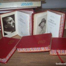 Libros de segunda mano: OBRAS COMPLETAS DE WENCESLAO FERNÁNDEZ FLÓREZ. 5 TOMOS. AGUILAR,EDICIONES.1954/56.CORTES ILUSTRADOS. Lote 125345539