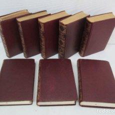Libros de segunda mano: OBRAS COMPLETAS DE UNAMUNO. TOMOS I-VI-VII-IX-XI-XIII-XIV-XV. EDICION AFRODISIO AGUADO. VERGARA S.A. Lote 125968931