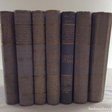 Libros de segunda mano: LOTE EDICIONES ALONSO OBRAS FAMOSAS. LOS MISERABLES QUENTIN DURWARD BEN HUR QUO VADIS ROMEO JULIETA. Lote 126207955