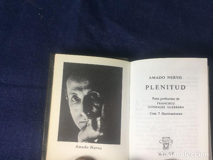 COLECCIÓN CRISOL AMADO NERVO PLENITUD Nº 035 LA FE LA MUJER (Libros de Segunda Mano (posteriores a 1936) - Literatura - Narrativa - Clásicos)