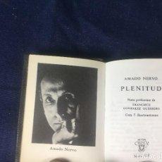 Libros de segunda mano: COLECCIÓN CRISOL AMADO NERVO PLENITUD Nº 035 LA FE LA MUJER. Lote 126537947