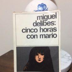 Libros de segunda mano - Cinco horas con Mario. Miguel Delibes. Destinolibro. - 126626180