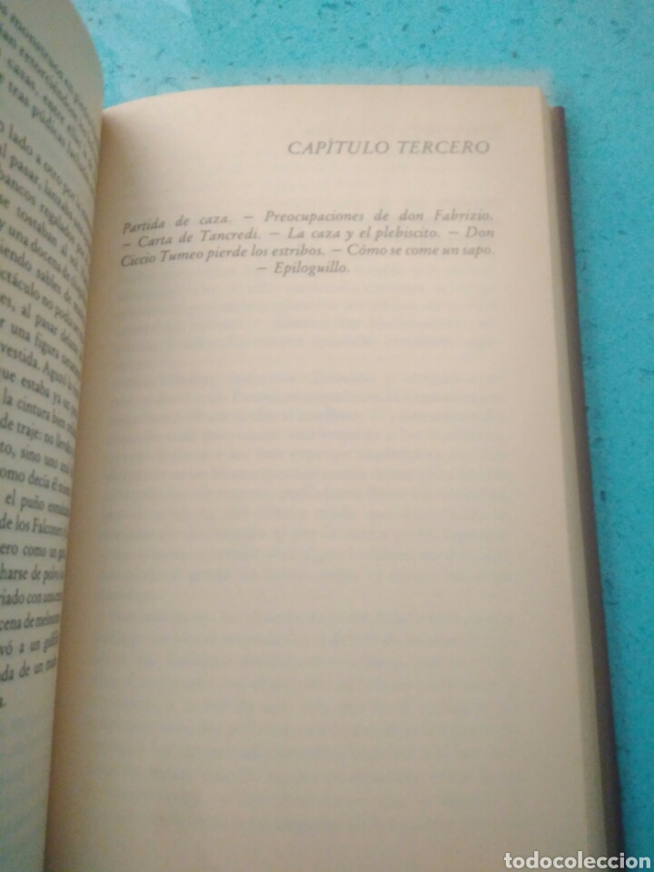 Libros de segunda mano: LAMPEDUSA GIUSEPPE TOMASI,EL GATOPARDO - Foto 2 - 126964070