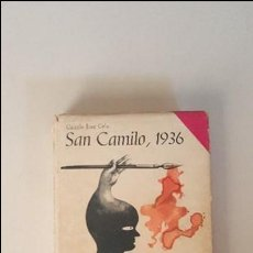 Libros de segunda mano: SAN CAMILO 1936 -- CAMILO JOSE CELA - ED. ALFAGUARA 1970 -1º ED.. Lote 92268285