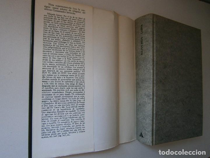 Libros de segunda mano: LARVA BABEL DE UNA NOCHE DE SAN JUAN Julian Rios Mondadori 1992 - Foto 9 - 127499915