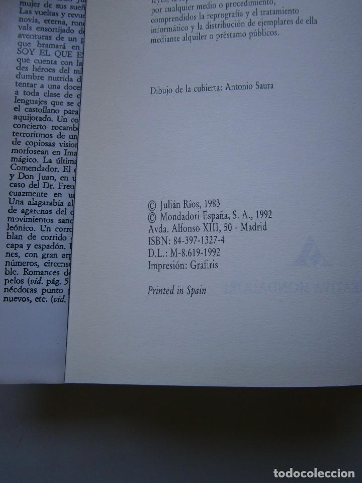Libros de segunda mano: LARVA BABEL DE UNA NOCHE DE SAN JUAN Julian Rios Mondadori 1992 - Foto 11 - 127499915