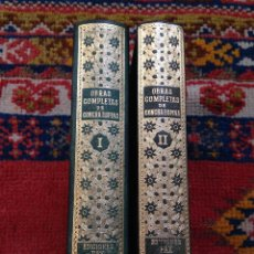 Libros de segunda mano: OBRAS COMPLETAS DE CONCHA ESPINA 2 TOMOS EDICIONES FAX 1955 2ª EDICIÓN MUY BUEN ESTADO. Lote 128028231