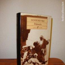 Libros de segunda mano: DIMONIS - DOSTOIEVSKI - EDHASA, MOLT BON ESTAT, RAR. Lote 128114595