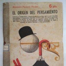 Libros de segunda mano: EL ORIGEN DEL PENSAMIENTO, REVISTA LITERARIA - NOVELAS Y CUENTOS, AÑO 1957. Lote 128476087