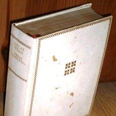Libros de segunda mano: OBRAS COMPLETAS POR OSCAR WILDE DE ED. AGUILAR EN MADRID 1972. Lote 126520898