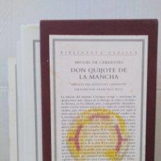 Libros de segunda mano: MIGUEL DE CERVANTES - DON QUIJOTE DE LA MANCHA. INSTITULO CERVANTES. CRÍTICA. DIR. FRANCISCO RICO. Lote 128726475
