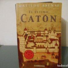 Libros de segunda mano: EL ULTIMO CATON. Lote 129038851