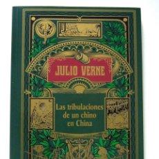 Libros de segunda mano: LAS TRIBULACIONES DE UN CHINO EN CHINA (2004), DE JULIO VERNE, RBA, EDICIÓN ESPECIAL CENTENARIO.. Lote 183515788