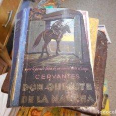 Libros de segunda mano: DON QUIJOTE DE LA MANCHA 1945 EDICION AUREA. Lote 129285031