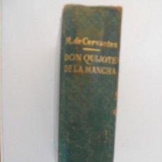 Libros de segunda mano: DON QUIJOTE DE LA MANCHA EDICION IV CENTENARIO MIGUEL DE CERVANTES EDICIONES CASTILLA . Lote 129372291