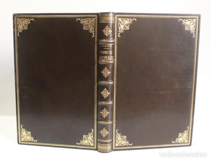 Libros de segunda mano: PROMETEO ENCADENADO. - ESQUILO. - Barcelona, 1943. - Foto 2 - 123185332
