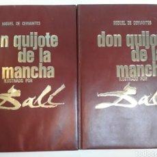 Libros de segunda mano: DON QUIJOTE DE LA MANCHA ILUSTRADO POR SALVADOR DALÍ EDITORIAL MATEU 1965. Lote 129472292