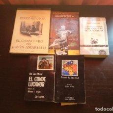 Libros de segunda mano: LIBROS DE AUTORES NACIONALES. Lote 129680971