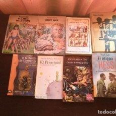 Libros de segunda mano: NOVELAS AUTORES INTERNACIONALES. Lote 129681719