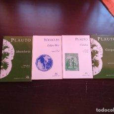 Libros de segunda mano: LITERATURA CLÁSICA. Lote 129682103
