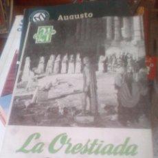 Libros de segunda mano: LA ORESTIADA - ESQUILO. VERSIÓN DE J.M. PEMÁN. Lote 129705443