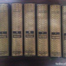 Libros de segunda mano: LOTE 6 TOMOS LIBROS OBRAS COMPLETAS SUS OBRAS PROPIAS PEDRO MUÑOZ SECA ED FAX. Lote 130000383