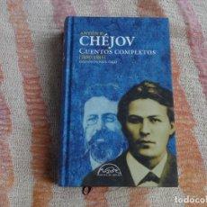 Libros de segunda mano: CUENTOS COMPLETOS CHEJOV - 1880-1885. ANTÓN CHEJOV (PAGINAS ESPUMA) - TAPA DURA. Lote 130564942