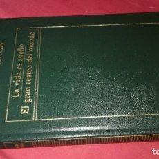 Libros de segunda mano: LA VIDA ES SUEÑO ; EL GRAN TEATRO DEL MUNDO-CALDERÓN DE LA BARCA -EDICIONES ORBIS. Lote 130636578