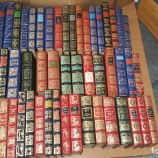 Libros de segunda mano: GRANDES GENIOS DE LA LITERATURA UNIVERSAL 50 LIBROS. Lote 130848176
