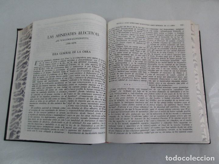 Libros de segunda mano: JOHANN WOLFGANG GOETHE. OBRAS COMPLETAS I-II-III. EDICION AGUILAR. VER FOTOGRAFIAS ADJUNTAS - Foto 18 - 130938896