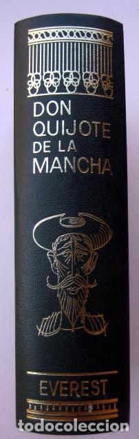 Libros de segunda mano: El ingenioso hidalgo Don Quijote de la Mancha, de Cervantes. Editorial Everest. 1978 - Foto 2 - 131044340