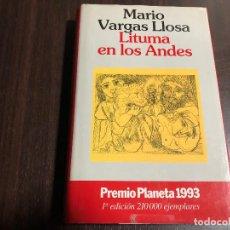Libros de segunda mano: LITURMA EN LOS ANDES - MARIO VARGAS LLOSA. Lote 131074092
