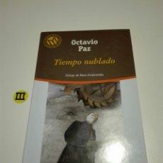 Libros de segunda mano: TIEMPO NUBLADO. OCTAVIO PAZ.. Lote 131086693