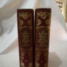 Libros de segunda mano: EL INGENIOSO HIDALGO DON QUIJOTE DE LA MANCHA-EDITORS-TOMO I Y II-MIGUEL DE CERVANTES. Lote 162663765