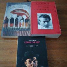 Libros de segunda mano: LOTE DE 3 LIBROS DE NARRATIVA EN ITALIANO. RICHLER, PAPADIAMANDIS, OVADIA.. Lote 131264743
