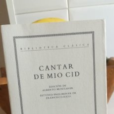 Libros de segunda mano: CANTAR DE MÍO CID. ED. CRÍTICA, Nº 1. 1993.. Lote 131286151